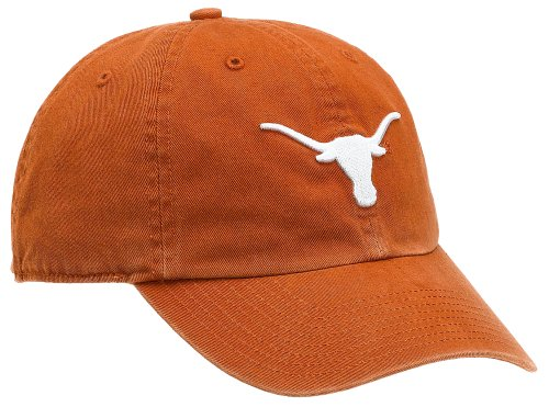 NCAA Texas Franchise Fitted Hat, Texas Orange, - Cap Texas Longhorns Fitted Hat