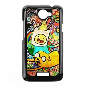 HTC One X Cell Phone Case Black Adventure Time Poster F2Y5OK