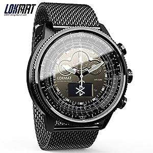 Amazon.com: LOKMAT Bluetooth Smart Watch Sport Waterproof ...