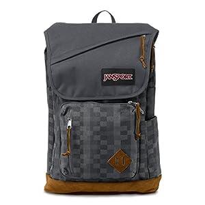 JanSport Hensley 31L Backpack Forge Grey Kente, One Size