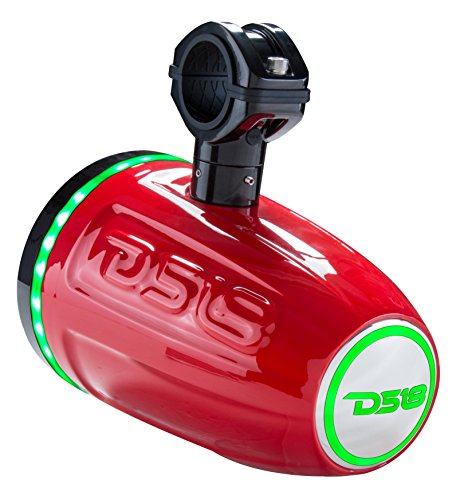 """DS18 Hydro NXL8TPR/NS Red Marine 8"""" Speaker Tower for All..."""