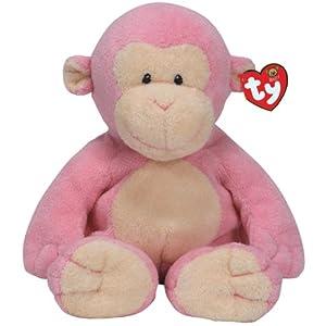 Baby Dangles - pink monkey - 51FXC3CJFEL - Ty Baby Dangles – Pink Monkey