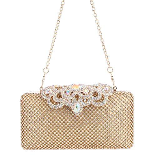 Pour Pochette Femme M Ab Uk1550 Taille Bonjanvye Gold aEwqx5v5n