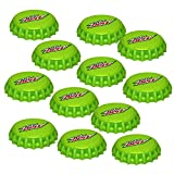 Jokari 12 Count Mtn Dew Modern Logo Snap and Sip Can Caps, Green