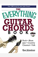 Everything Guitar Chords Book With Cd (Everything Series) Paperback