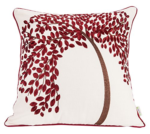 BLUETTEK Embroidered Cotton Decorative Cushion product image