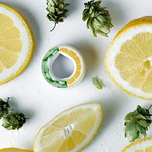 air up Duft-Pods für air up Trinkflasche - 6er Pack für insgesamt 30 Liter Geschmack in den Geschmacksrichtungen Limette, Zitrone-Hopfen, Orange-Maracuja, Apfel und Pfirsich (Zitrone-Hopfen)