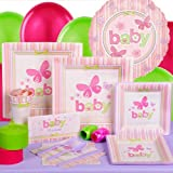 Carter's Baby Girl Baby Shower Standard Party Kit for 8