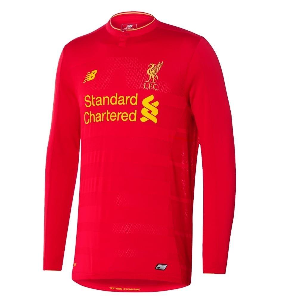 Liverpool Home L S Trikot 2016 2017