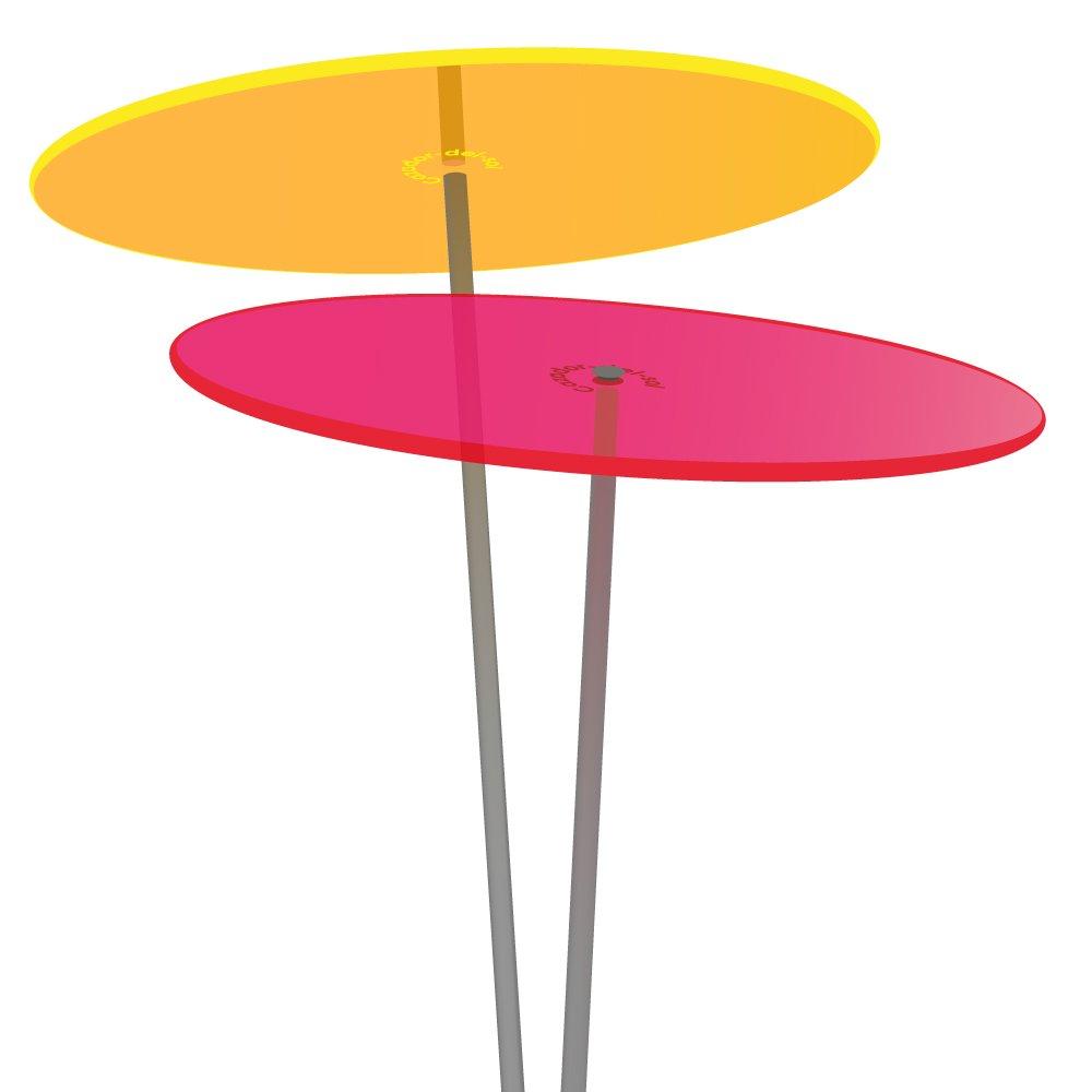 Cazador del Sol®, collettore sole, medio 2pezzi, in colore giallo e rosso, 1,20metri di altezza, originale
