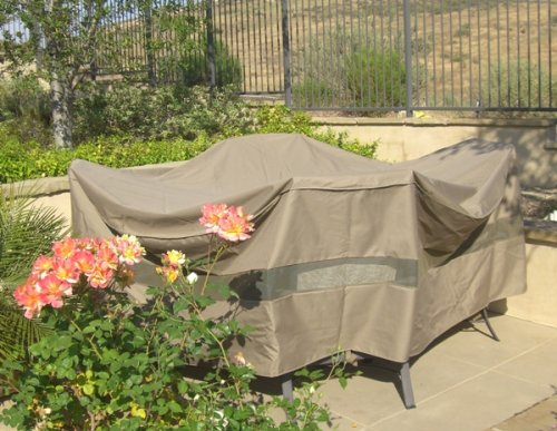 "Patio Set Covers 96"" Dia. Fits Square, Oval And Round"