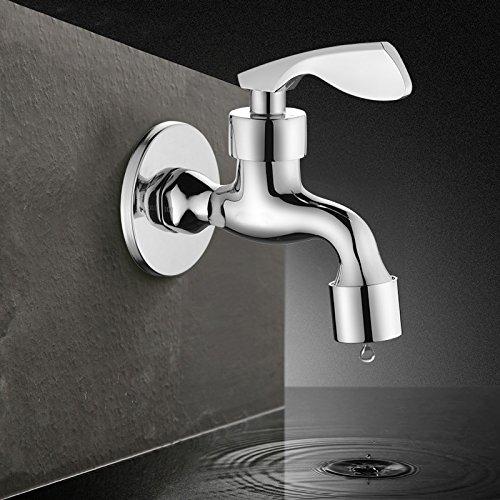WINZSC El agua del grifo de la válvula del grifo de cobre de la ...