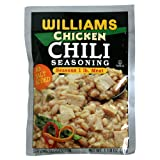 Williams White Chile Seasoning Mix, 1.125-Ounce Packets (Pack of 24)
