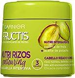 Garnier Fructis Nutri Rizos Contouring Mascarilla Intensiva Fortificante que Nutre y Define, con Pectina de Fruta y…