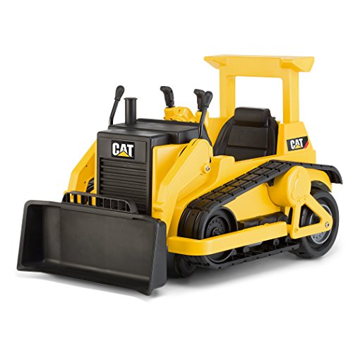 (Kid Trax CAT Bulldozer 12V Battery-Powered Ride-On Toy)