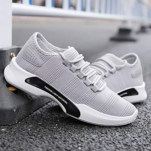 Confortable Sneakers Outdoor Sport Gym Chaussures Fitness Running Lacets Hommes de Casual Multisports Gris pour Course de Chaussures Yp0qx4Hw