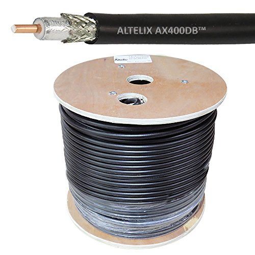 ct Burial 400 Series 50 Ohm Low Loss Coaxial Cable 500 Foot Reel ()