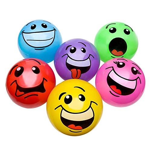 DollarItemDirect 12'' Silly FACE Vinyl Balls, Case of 96