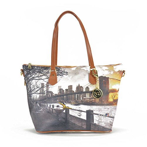 Y Not Schultertasche 29 cm New York ExHagR1n