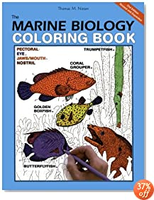 The Marine Biology Coloring Book, Second Edition