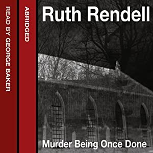 Murder Being Once Done Audiobook