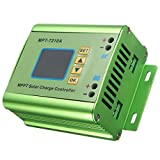 Quickbuying 1PC Electric LCD MPPT Solar Regulator Charge Controller 24/36/48/60/72V 10A DC-DC Boost L4H4 Color LCD Display 131 X 96 X54mm