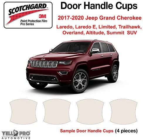 3M Scotchgard Paint Protection Film Pro Series 2019 2020 Jeep Cherokee Trailhawk