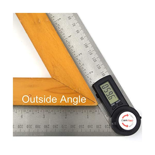 GemRed-82305-Digital-Protractor-Angle-Finder-Stainless-Steel-Ruler200mm