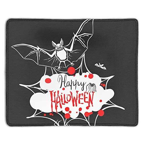 Gaming Mouse Pad,Mouse Pad Unique Printed Mousepad Non-Slip Rubber Happy Halloween ()