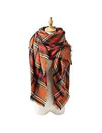 Absolutely Perfect Plaid Checked Autumn Winter Tartan Scarf Shawl Large Blanket