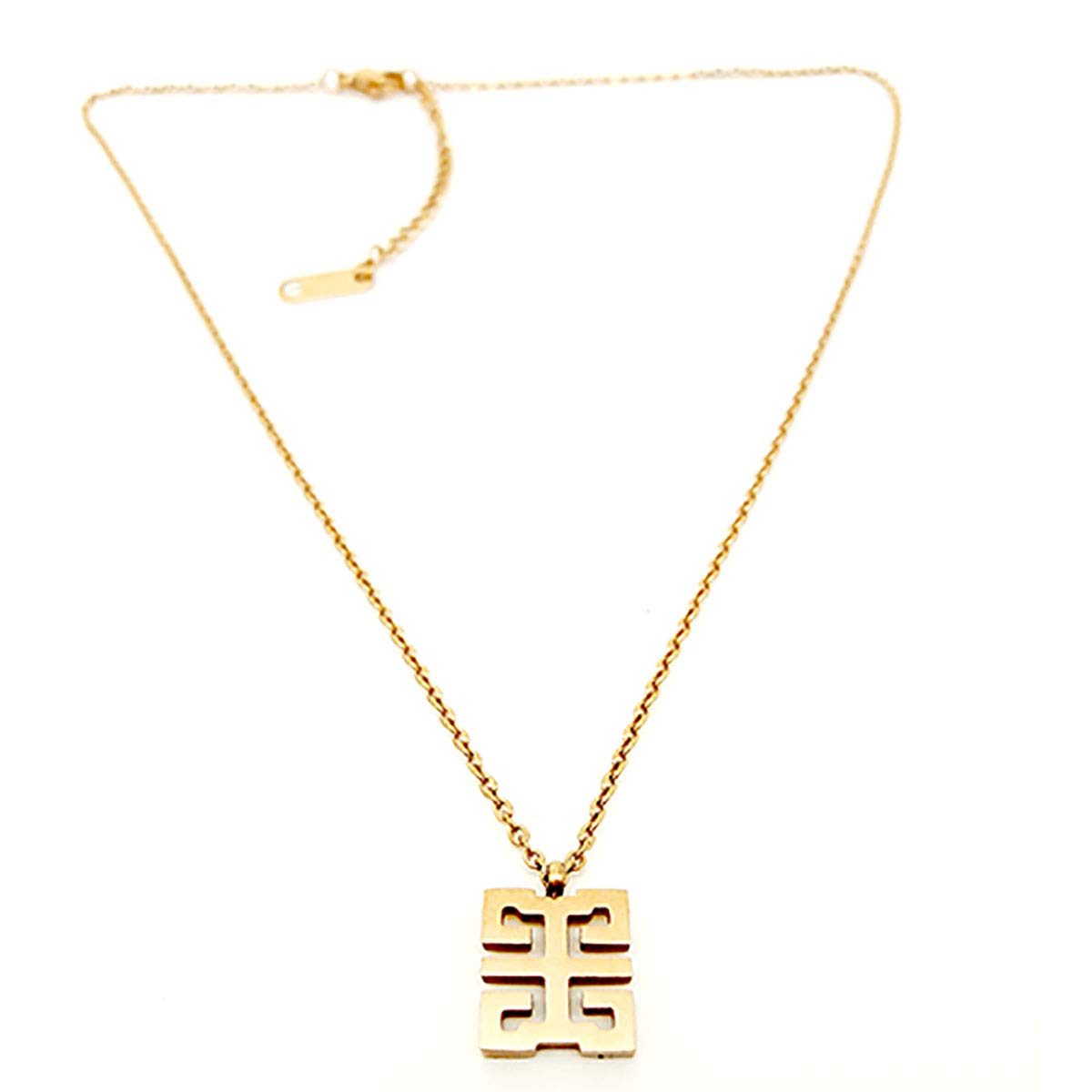 SY-Only Titanium Steel Rose Gold Color Clavicle Necklace with Short Chain