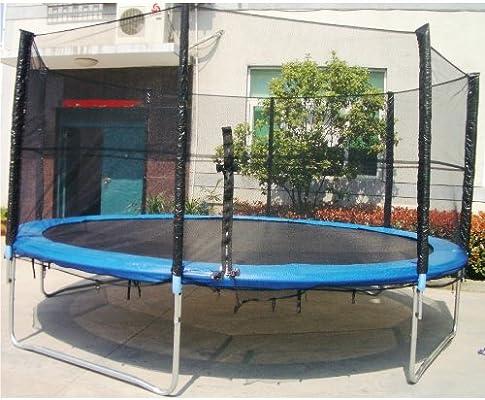 XXL cama elástica trampolín de jardín 460 cm 4,60 m: Amazon.es: Jardín