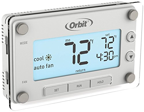 (Orbit 83521 Clear Comfort Programmable Thermostat with Large, Easy-to-Read Display)