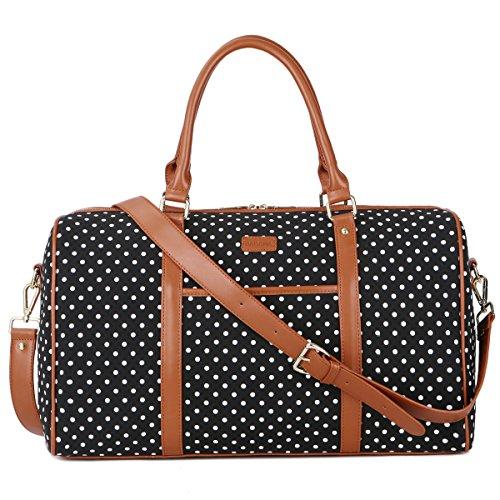 Black Polka Travel Dots Baosha Large Bag Black FcuT35l1KJ