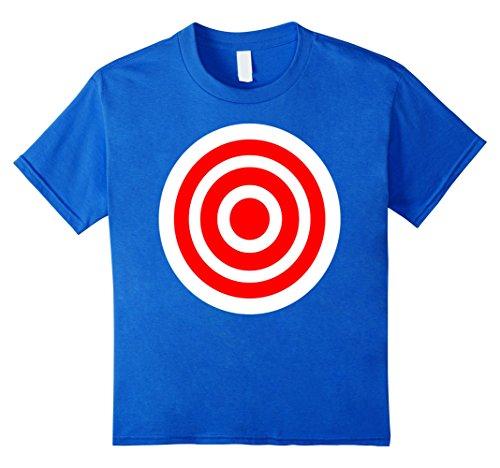 Target Girls Fashion - Kids Target T Shirt Funny practice bulls eye board game gift tee 12 Royal Blue
