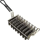 Great Credentials Taco Shell Deep Fryer Basket - 8 Shells