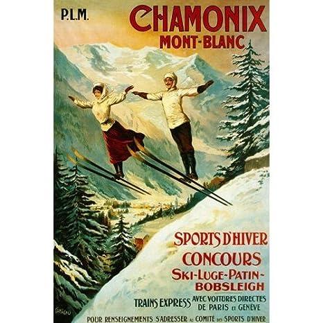 Amazon.com: Chamonix Mont Blanc concurso de deportes de ...