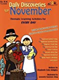 Daily Discoveries for November: Thematic Learning Activities for Every Day