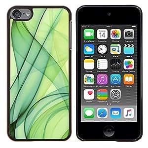 Cubierta protectora del caso de Shell Plástico || Apple iPod Touch 6 6th Touch6 || Verde Fuma @XPTECH