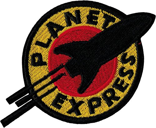Futurama Halloween Costumes For Sale - FUTURAMA Planet Express Iron Sew On Embroidered Patch Badge Costume Fancy DressApprox:4.4