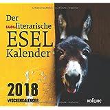 Der (un)literarische Eselkalender (Kadmos' koole Postkartenkalender)
