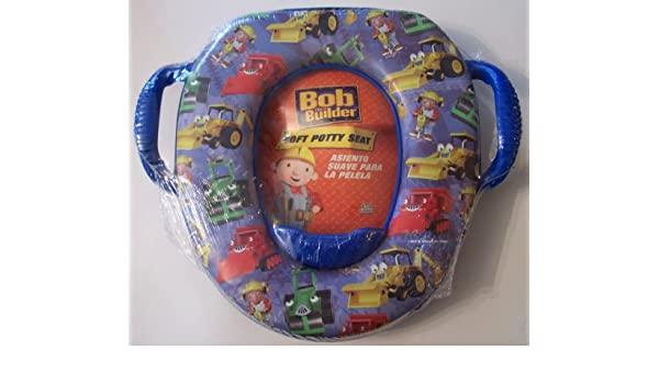 Amazon.com : Bob the Builder Soft Potty Seat : Toilet Training Products : Baby