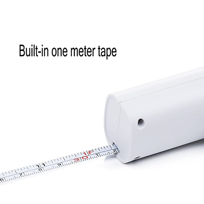OFKPO Báscula de Equipaje Digital LED Portátil con Cinta Métrica de 1 Metro para Pesar Maletas, Cocina, Viajes, Pesca ect: Amazon.es: Electrónica