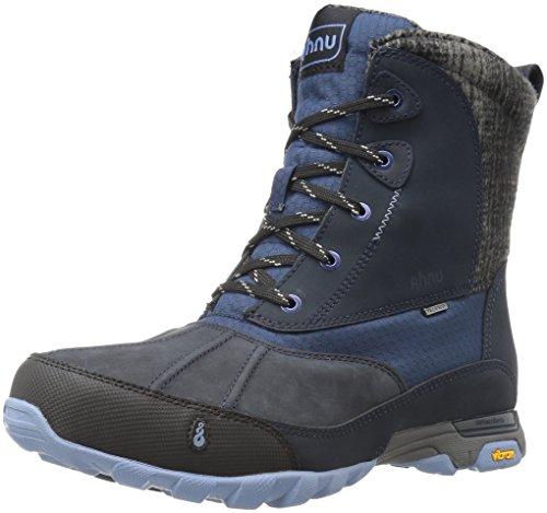 Ahnu Women's Sugar Peak Insulated Waterproof Hiking Boot, Blue Spell, 9.5 M US by Ahnu