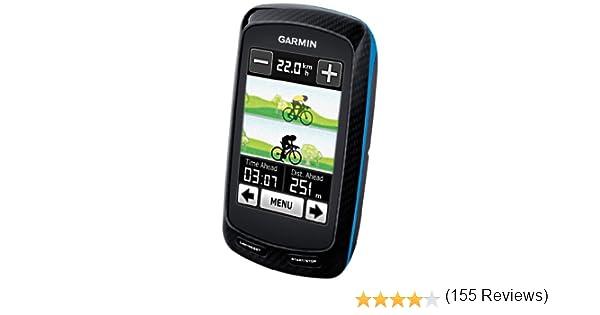 Garmin Edge 800 Performance Bundle - Navegador GPS con pulsómetro y Sensor de cadencia (160 x 240 Pixeles, 98 g, 5.1 mm, 2.5 mm, Ión de Litio, 15 h): Amazon.es ...