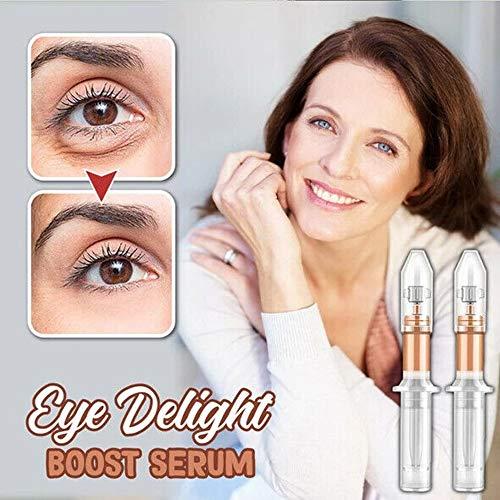BlackSwan Eye Delight Boost Serum, Anti Aging Augenserum für Augenringe und Schwellungen, für Männer und Frauen