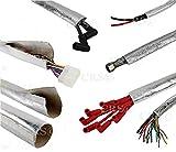 Aluminum Metallic Heat Shield Sleeve Fiberglass
