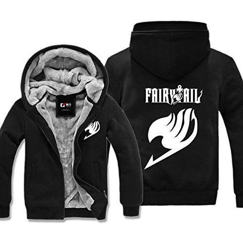Fairy Tail Anime Hoodie Costume Coat Sweatsuit, Asian Size, Three Colors