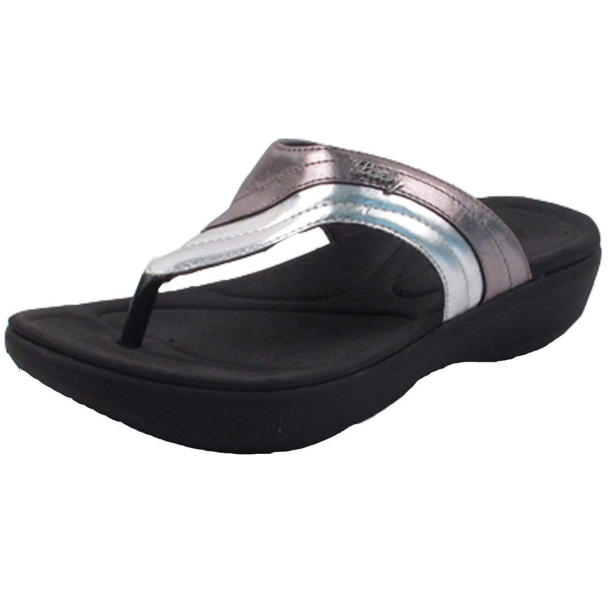 Gold Pigeon Shoes GP7530W Women Flip Flop: 8518 Silver Bronze, EU39