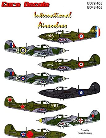 Amazon.com: International P-39 airacobras (1/72 calcomanías ...